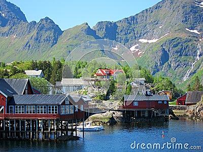 Lofoten Island in Norway