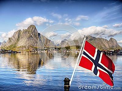 Lofoten Islands, Norway Landscape