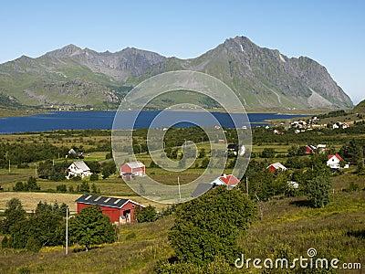 Lofoten landscape