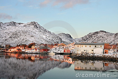 Lofoten mirrors of late november