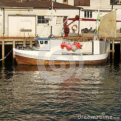 Lofoten s  fishing boat