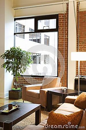 Loft apartment.