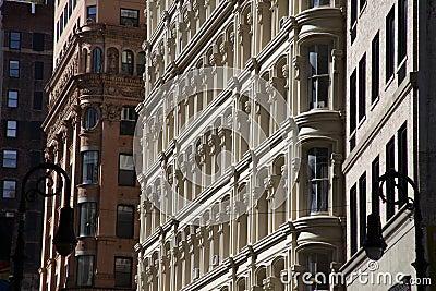 Loft building facade