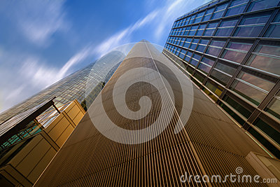 Lofty Heights: Converging Lines