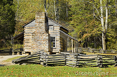 Log Cabin, Cades Cove, Great Smoky Mountains