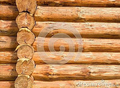 Log cabin details