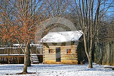 Log Cabin at Sycamore Shoals
