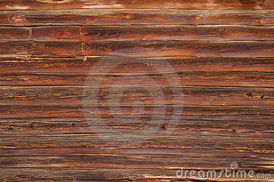 Log House Wall Texture