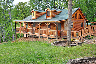 Log vacation home