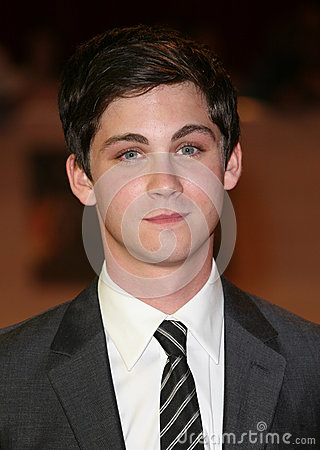Logan Lerman Editorial Stock Photo