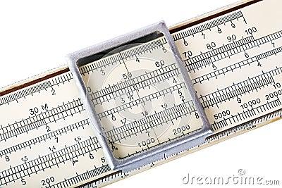 Logarithm ruler