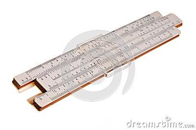 Logarithmic ruler