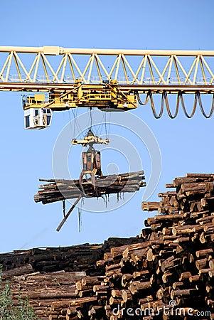Logging Crane