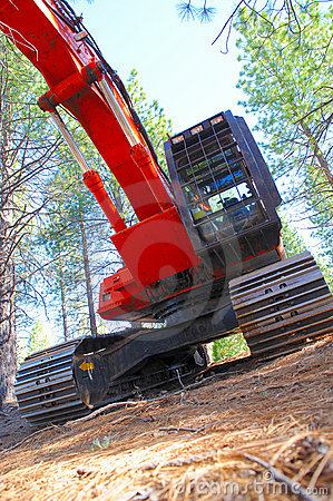 Free Logging Tractor Stock Photo - 9453570