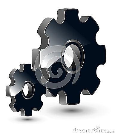 Logo 3D gears
