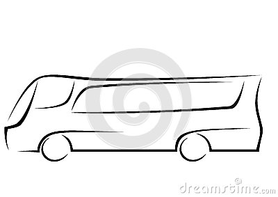 Logo of a aerodynamic bus stock vector image 39030284 - Coach Logo Template Galleryhip Com The Hippest Galleries