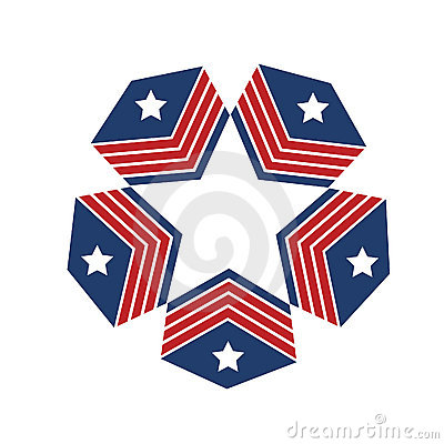 Logo American stars