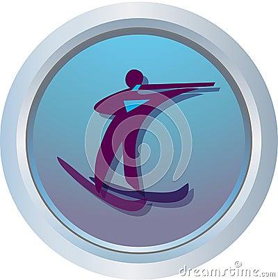 Logo of Biathlon