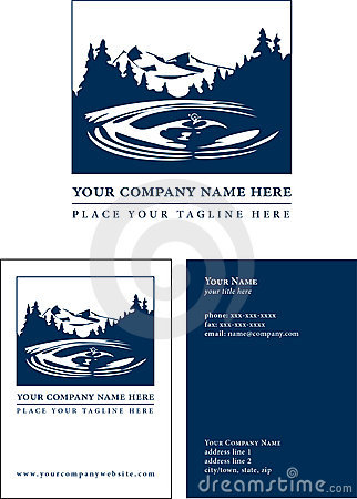 Logo with Business Card Template