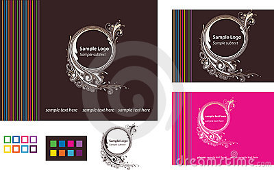 Logo with Business Card and Web Template
