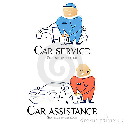 Logo - Car service