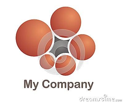 Logo for a cmmunication company