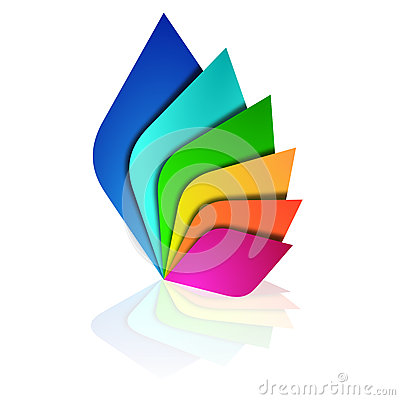Free Logo Colors Leaves Royalty Free Stock Photo - 50662465