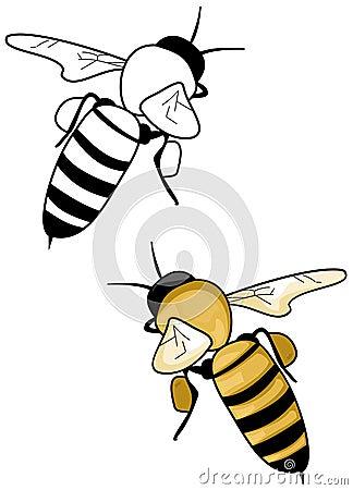 Logo d abeille