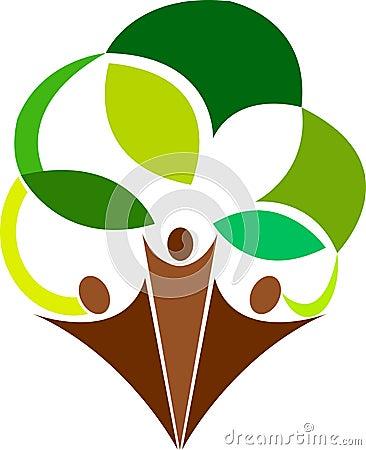 Logo d arbre de couples