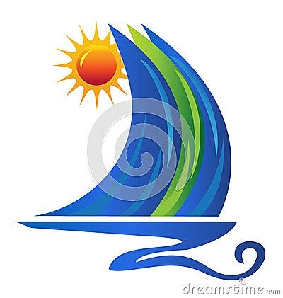logo de bateau photographie stock libre de droits image 27059897. Black Bedroom Furniture Sets. Home Design Ideas