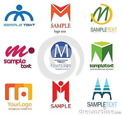 Logo de la lettre M