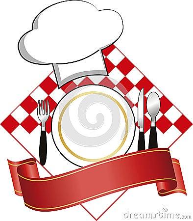 Logo De Restaurant Image libre de droits - Image: 12230326