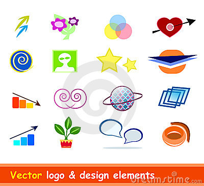 Logo & design elements vector