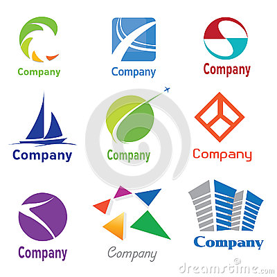 Free Logo Design Samples 01 Stock Photos - 25094593