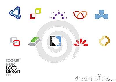 Logo design vector elements 01