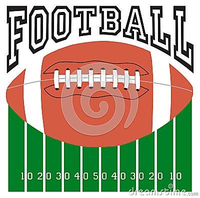 Logo di sport di calcio
