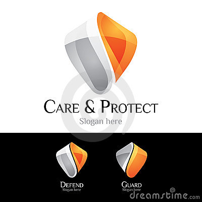 Logo - Dispositif Protecteur Photographie stock - Image: 20323952