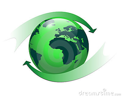 Logo earth globe