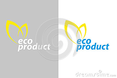 Logo eco product