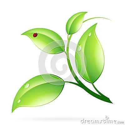 Logo Ecology Concept
