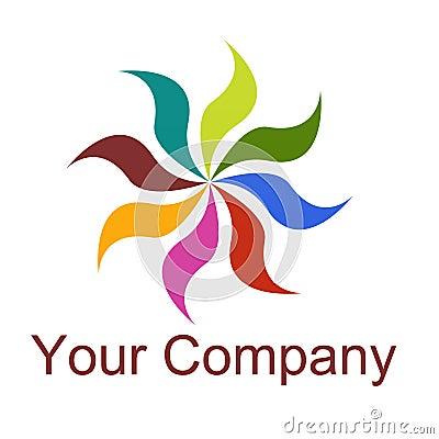 Logo / flower / nature / life / peace / eco / bio