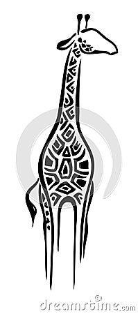 Free Logo Giraffe Stock Photography - 4930872