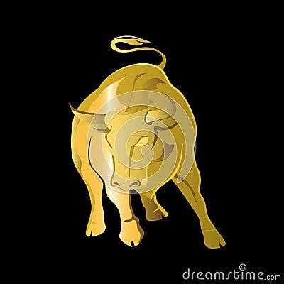 Logo Gold bull