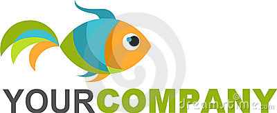 Logo gold fish
