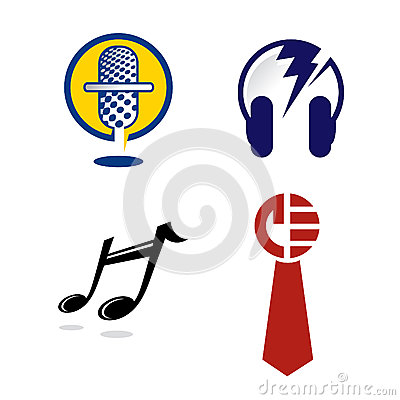 Logo Graphics for Music Industry