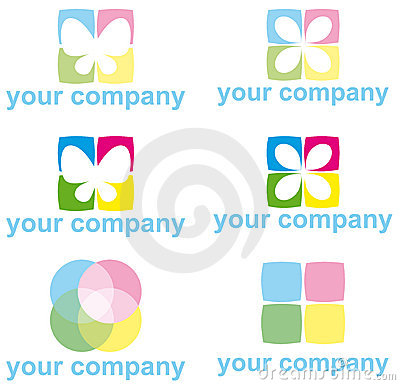 Free LOGO ICON SET Stock Photo - 18645930