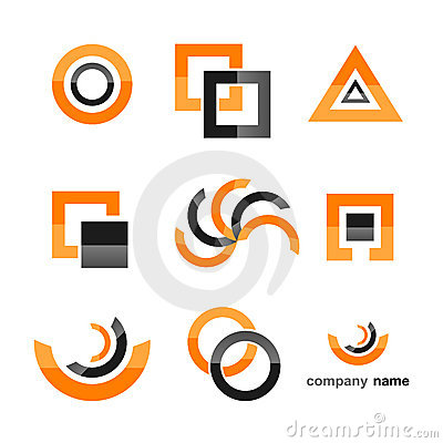 Logo icon set