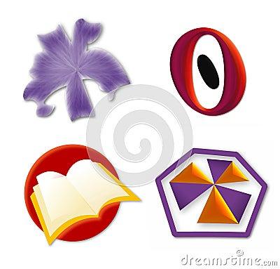 Logo Icon set 3