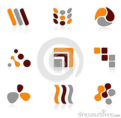 Logo icon set
