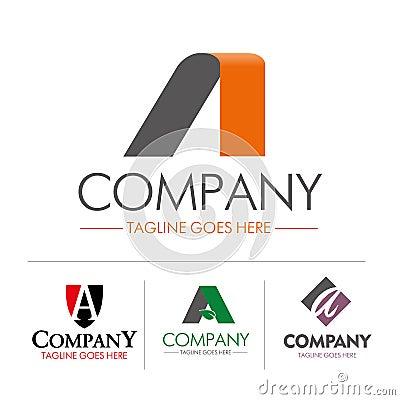 Free Logo Letter A Set Stock Photos - 42441733